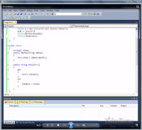 Kurs C# - zrzut ekranu
