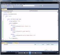 Kurs Video c# 4.0 - zrzut ekranu