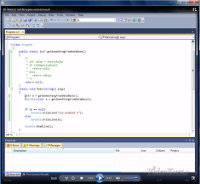 C# - zrzut ekranu