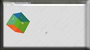 Kurs CSS 3 - kostka 3D